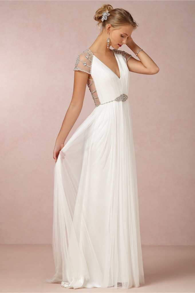 BHLDN spring 2014 bridal collection in Junebug's wedding dress galleries | via junebugweddings.com
