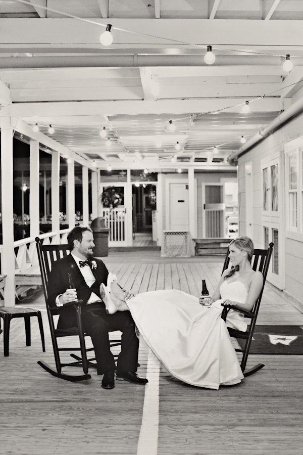 North Carolina wedding at The Carolina Yacht Club, photo by Whitebox Photo | via junebugweddings.com