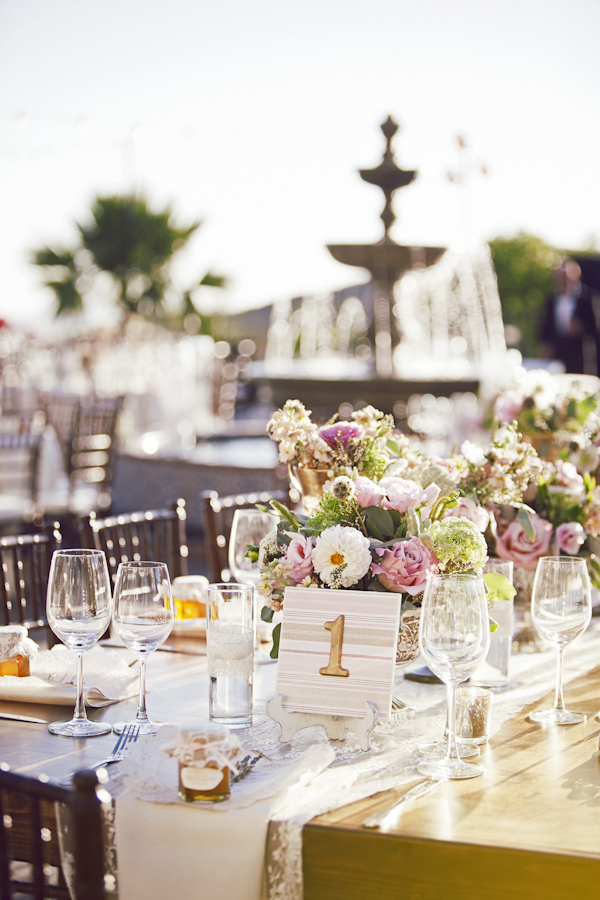 Blush, Gold and Ivory California Wedding | Junebug Weddings