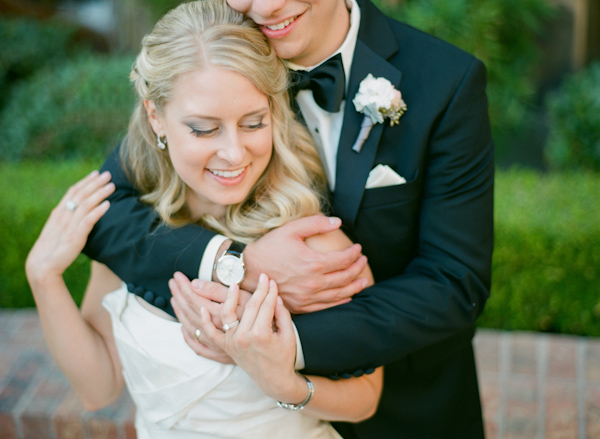 pink and cream wedding at the Big Canyon Country Club, photo by Troy Grover Photographers | via junebugweddings.com (18)