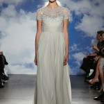 Wedding Dresses with Sleeves – New Necklines from the Spring 2015 Bridal Collection by Jenny Packham