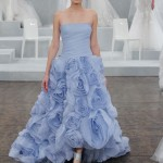 Colorful Wedding Dresses – New Bridal Hues from the Spring 2015 Bridal Collection by Monique Lhuillier