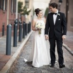 Black, White and Gold New Year's Eve Wedding in Philadelphia – Khaki and Chris