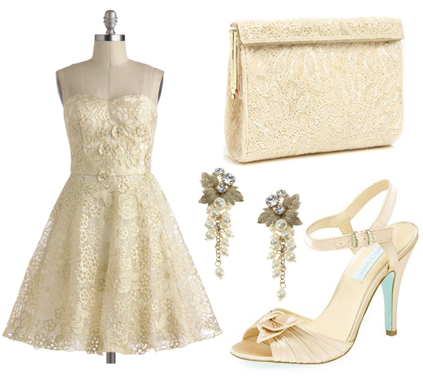 bridal fashion inspiration for your rehearsal dinner