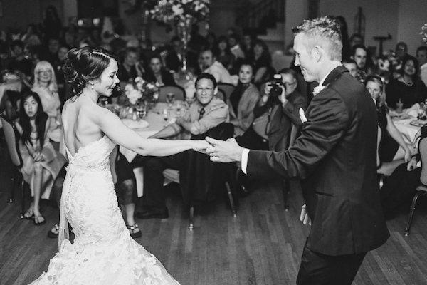 traditional and timeless bridal style, photo by Christina Carroll Photography | via junebugweddings.com