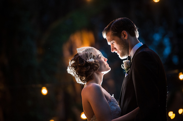elegant winter wedding in Florida with photos by Dana Goodson Photography | via junebugweddings.com
