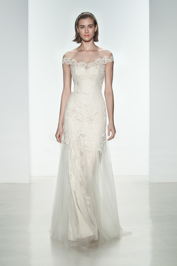 Christos Spring 2015 Bridal Collection | via junebugweddings.com