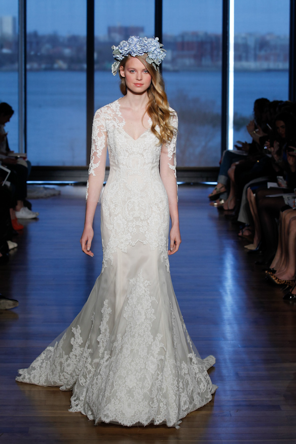 Ines di Santo Spring 2015 Bridal Collection | via junebugweddings.com