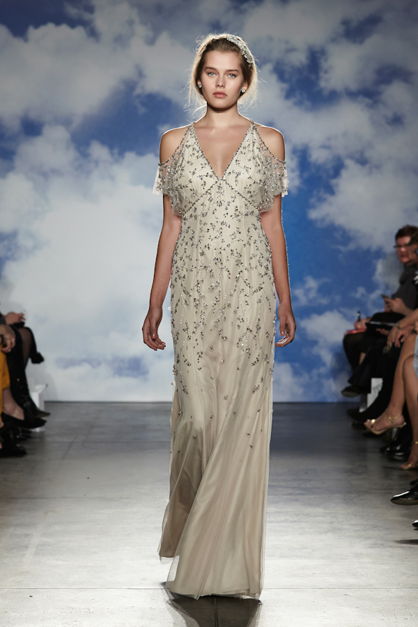 Jenny Packham Spring 2015 Bridal Collection | via junebugweddings.com
