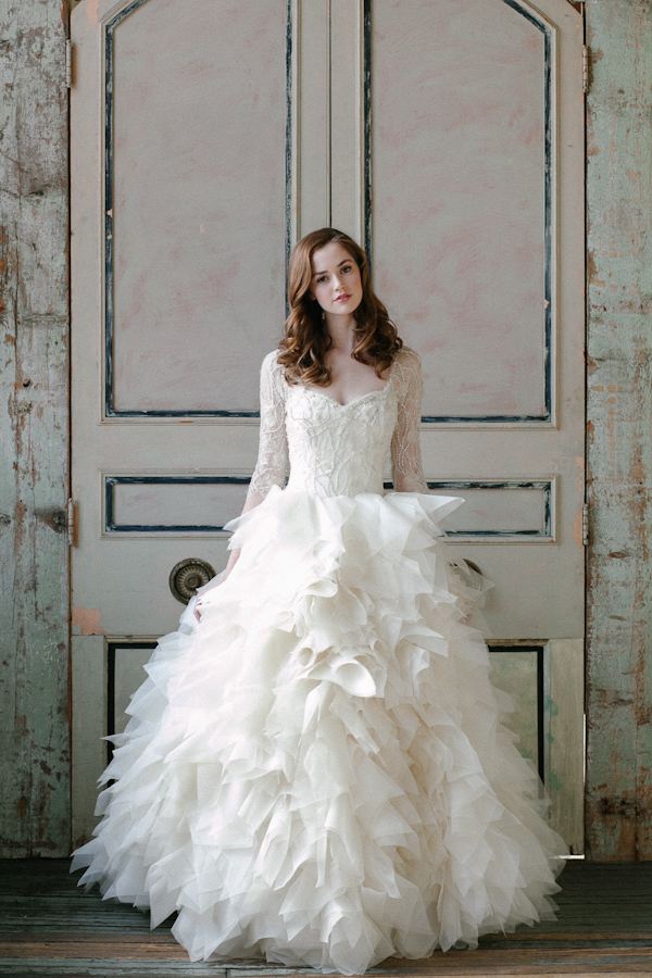 opulent wedding dresses from sareh nouri junebug weddings