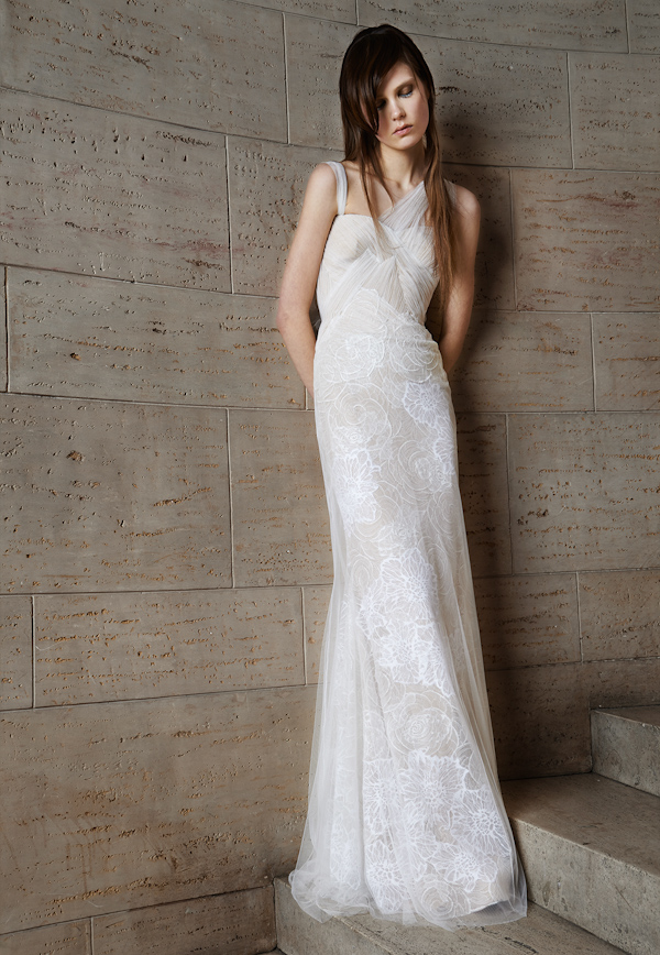 Vera Wang Spring 2015 Bridal Collection | via junebugweddings.com