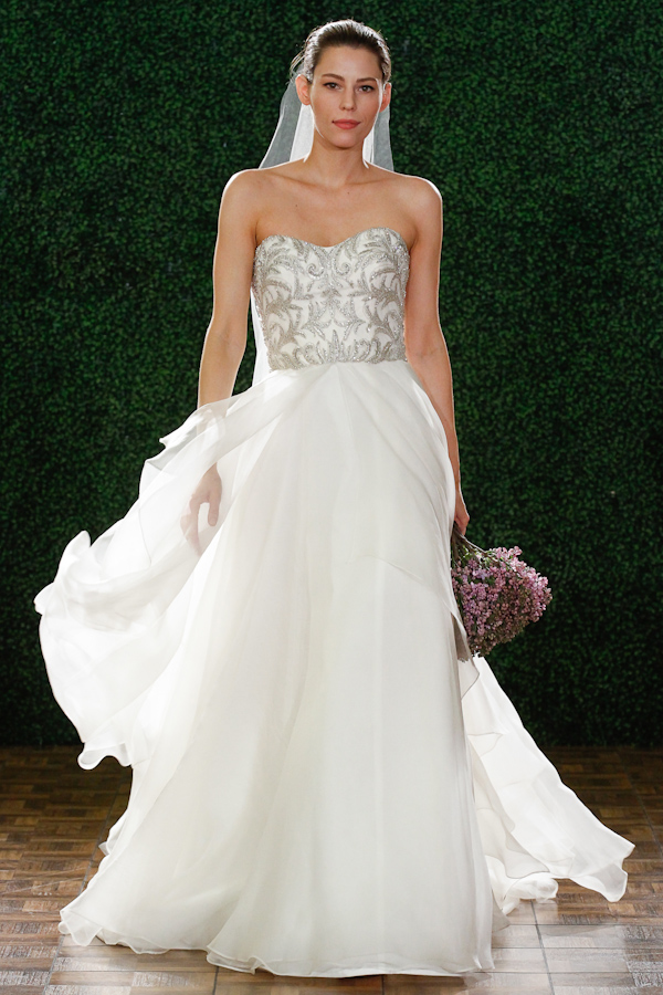Watters Spring 2015 Bridal Collection | via junebugweddings.com