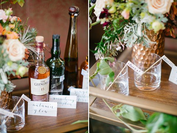boho chic wedding inspiration photo shoot, photo by Kimberly Chau Photography | via junebugweddings.com