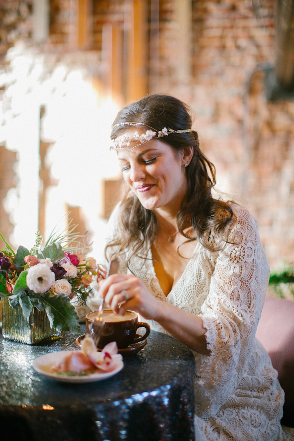 Boho Chic Wedding Inspiration Photo Shoot Junebug Weddings