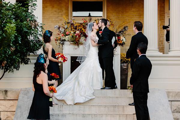 fall wedding at Hotel Ella in Austin, Texas with photos by Caroline + Ben Photography | via junebugweddings.com (10)