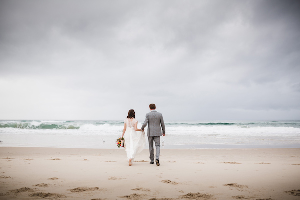 fun relaxed wedding in Kingscliff, Australia, photo by Kye Norton Photography | via junebugweddings.com