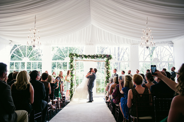 mint and cream wedding at The Estate in Atlanta, Georgia, photo by Scobey Photography | via junebugweddings.com