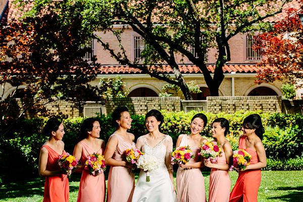 Chic Multicultural Bridal Style, Photo by Caroline + Ben Photography | via junebugweddings.com