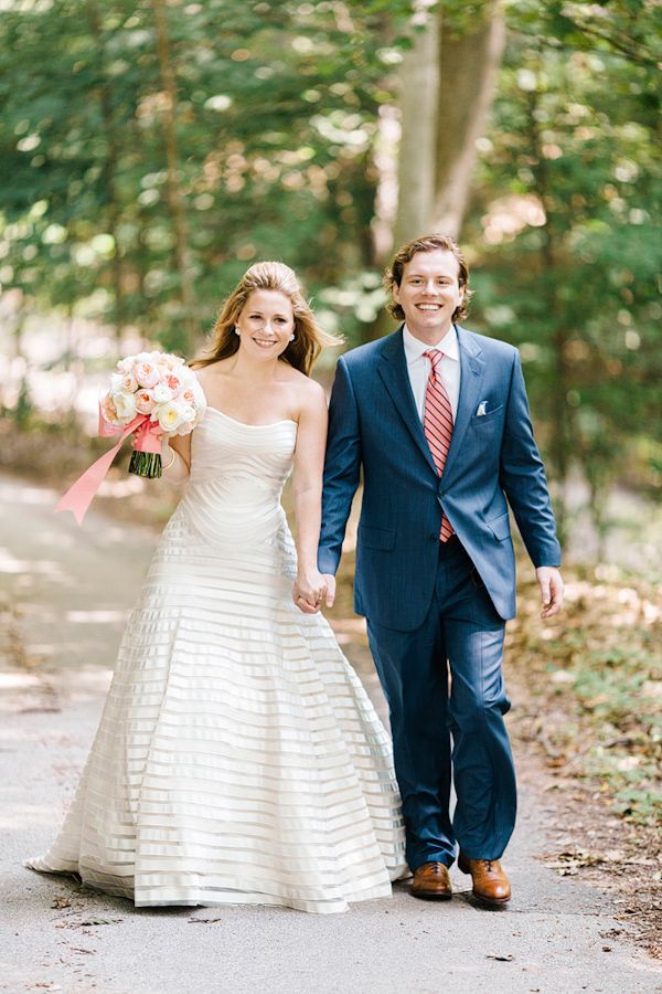 Navy And Coral Wedding.Coral And Navy Nautical Wedding Junebug Weddings