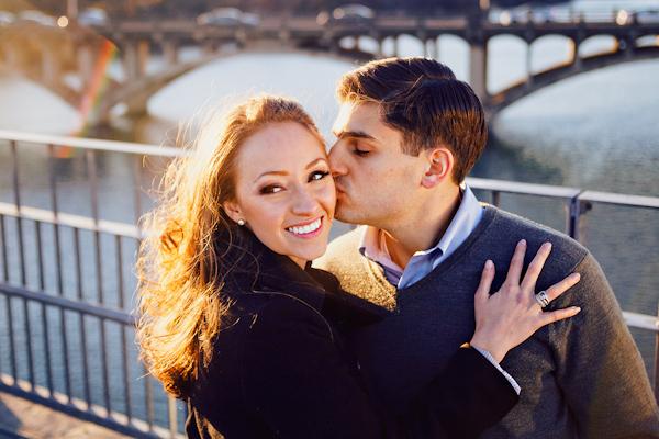 engagement photo from Studio Uma   via junebugweddings.com