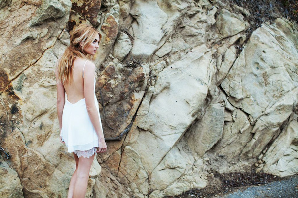 backless wedding dresses from Katie May | via junebugweddings.com