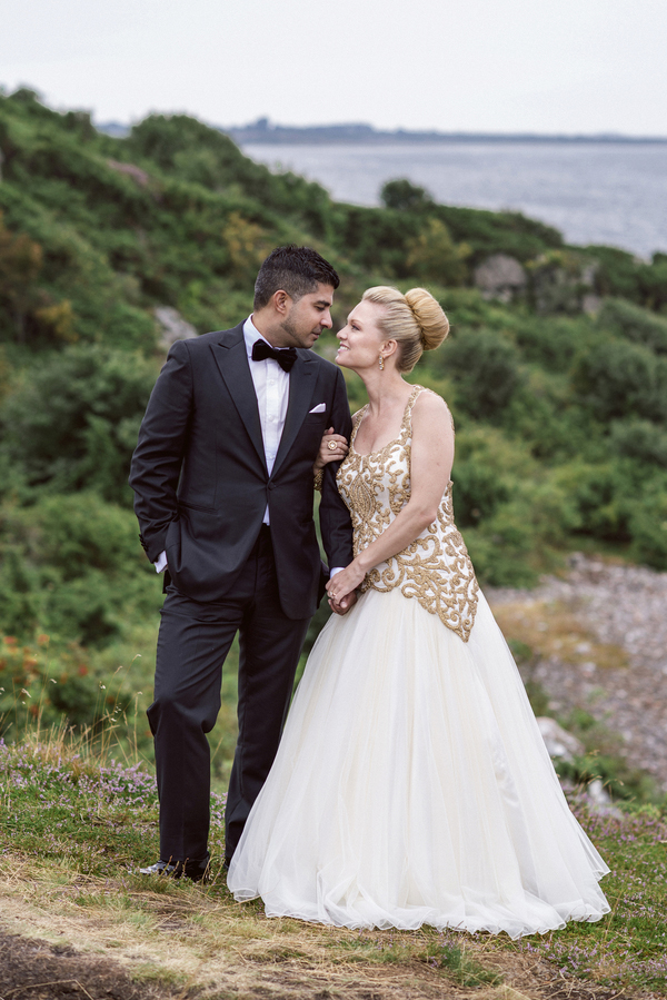 Incredible Multicultural Fusion Bridal Style | Junebug Weddings