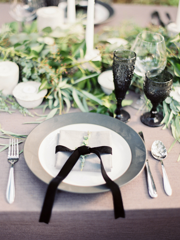 Organic Black U0026 White Wedding Inspiration Photo Shoot, Photo By Taylor Lord  Photography | Via