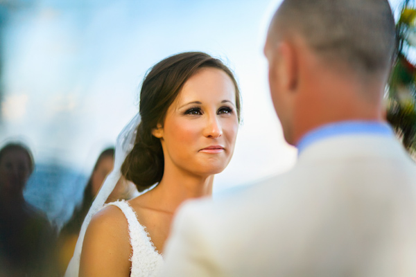 destination wedding ceremony, photo by Zasil Studio | via junebugweddings.com