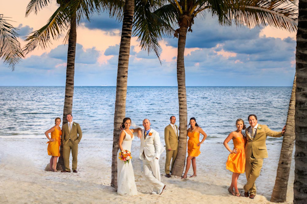 destination wedding bridal party, photo by Zasil Studio | via junebugweddings.com