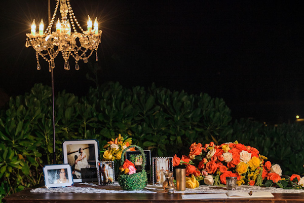 destination wedding decor, photo by Zasil Studio | via junebugweddings.com