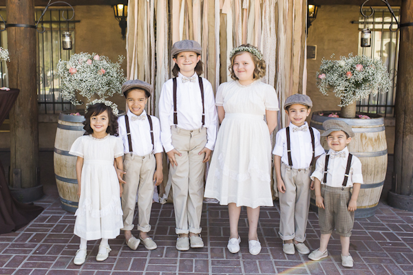 kid's wedding fashion, photo by Rachel Solomon | via junebugweddings.com