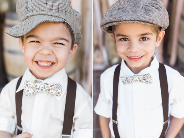 adorable ring bearer, photo by Rachel Solomon | via junebugweddings.com