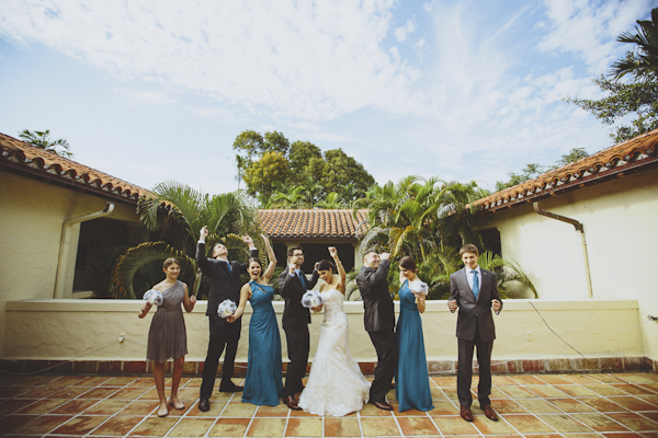 elegant wedding at the Villa Woodbine in Coconut Grove, photo by Jonathan Connolly Photography | via junebugweddings.com (23)