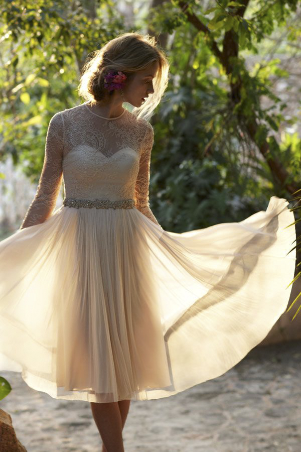 Get The Perfect Bohemian Bride Look With Bhldn Via Junebug Weddings