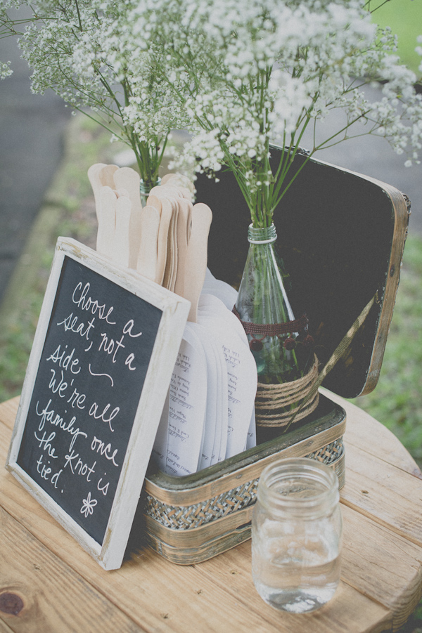 blush and mint wedding decor, photo by Still55 Photography | via junebugweddings.com