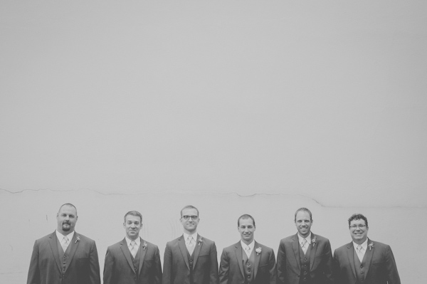 groomsmen portrait, photo by Still55 Photography | via junebugweddings.com