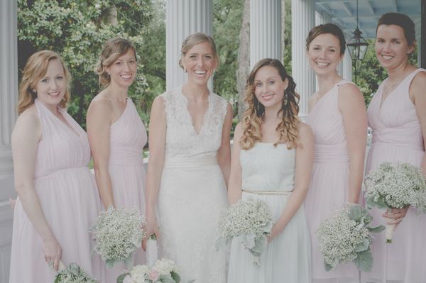 wedding party fashion, photo by Still55 Photography | via junebugweddings.com