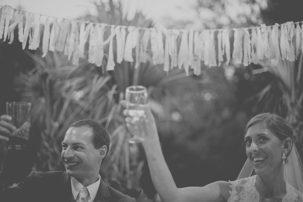 wedding reception toast, photo by Still55 Weddings | via junebugweddings.com