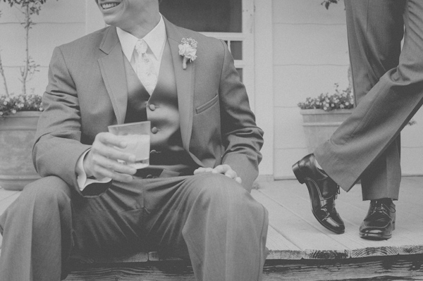 vintage inspired groom's fashion, photo by Still55 Photography | via junebugweddings.com