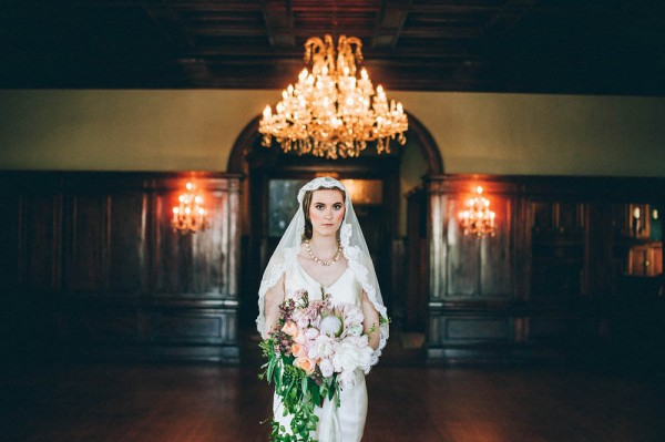 romantic styled shoot