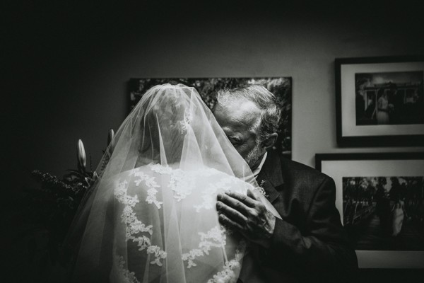 bride and father of bride