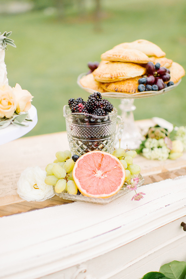 healthy wedding dessert ideas