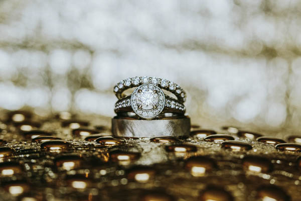 vintage southern wedding bands, photo by Streetlight Republic | via junebugweddings.com