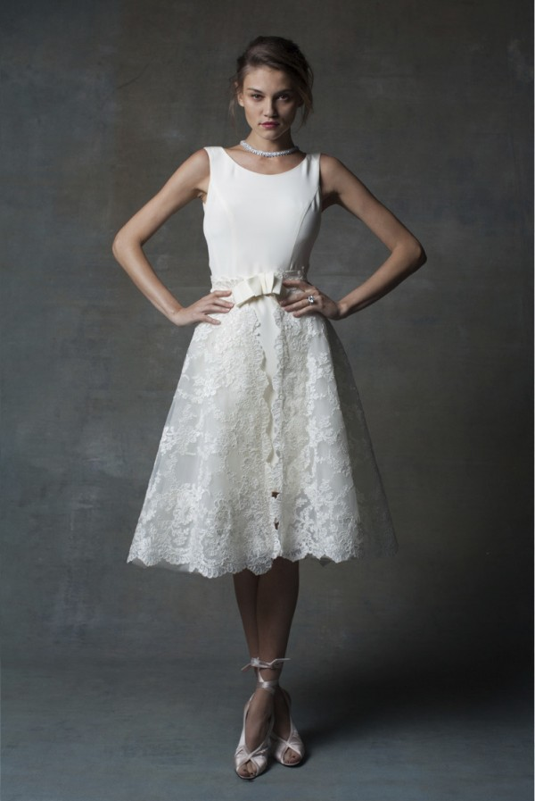 Isabelle Armstrong short wedding dress