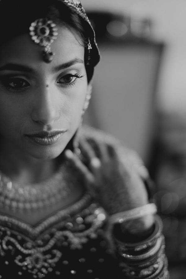 stunning Indian bridal portrait