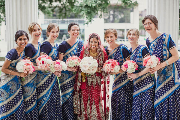 Indian wedding bridesmaids dresses