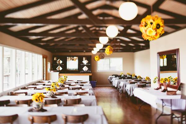 elegant seaside wedding venue at Merryman's Beachhouse