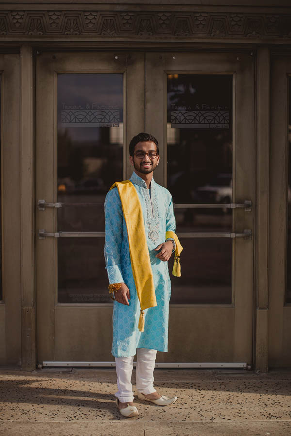 traditional Indian wedding groom fashion