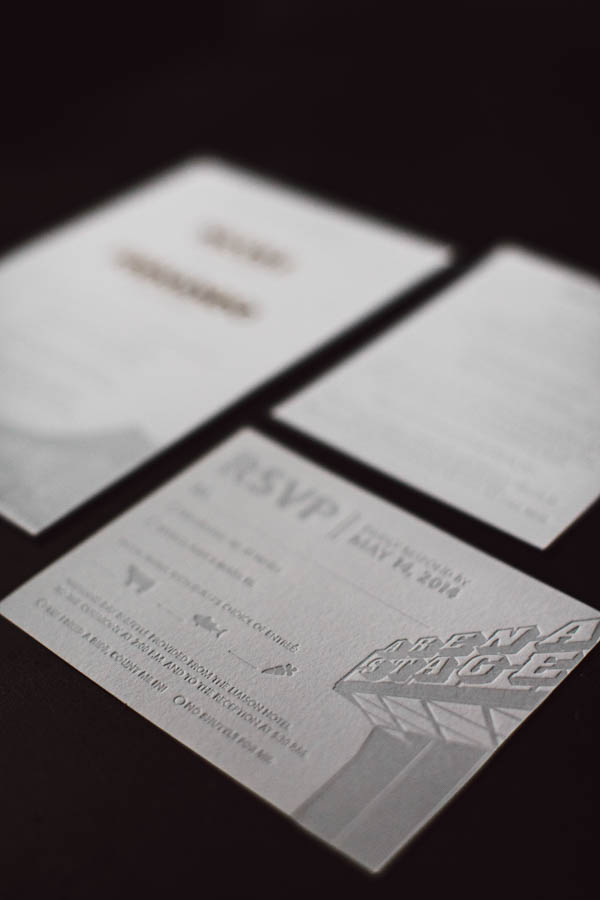 urban wedding invitations
