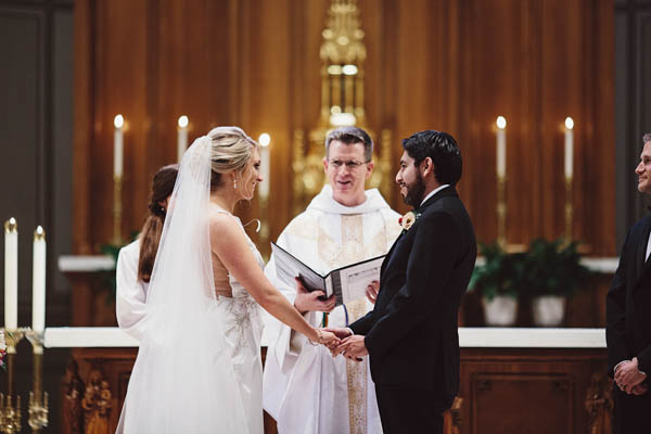 beautiful church wedding ceremony